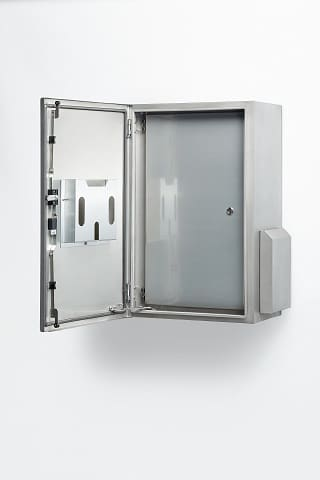 Stainless Steel Pole Mounted Field Cabinet