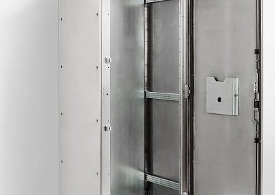 Stainless Steel Floor Standing Electrical Cabinet